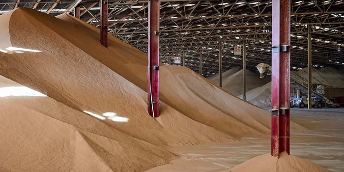 flat sand storage